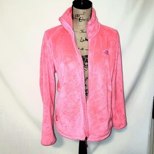 The North Face | Osito Fuzzy Pink Zip Up Jacket